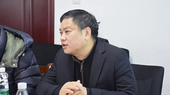 陈钊先生 发言剪影
